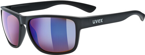 UVEX LGL 36 Colorvision Lifestyle Glasses black matt/outdoor blue m. 2018 Sonnenbrillen LAAhOfAr9g